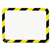 Tarifold High Visibility Safety Frame Display Pocket-Magnet Back, 10.25 x 14.5, Yellow and Black (AZTY15290)