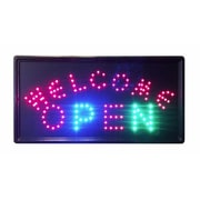 Constructor Animated Motion Welcome Open Sign lED Neon light (DSDTC166)