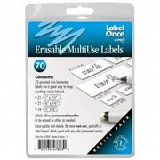 Jokari-US Erasable MultiUse labels Refill- 70 labels (JKRI059)
