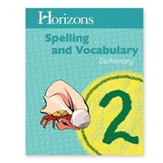 Alpha Omega Publications Horizons Spelling Grd 2 Dictionary (APOP377)