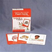 Cicso Independent Sign2Me ASl Flash Cards - Animals and Colors Pack (HRSC627)