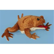 Sunny Toys 12 In. Toad - Marine, Animal Puppet (SNTY396)