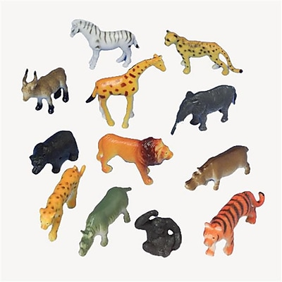 US Toy Company Mini Wild Animals (21 Packs Of 12) 2628383