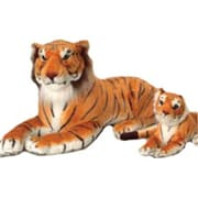 US Toy Company Jumbo Realistic Tiger (2 Packs Of 1)