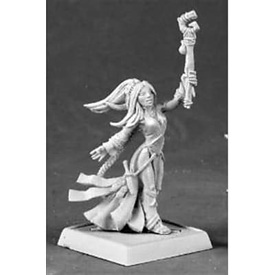 Reaper Miniatures 60034 Pathfinder Series Seoni, Female Iconic Sorceress Miniature (ACDD10560) 2628396