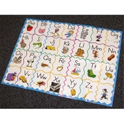 Alpha Omega Publications Horizons Kindergarten Alphabet Floor Puzzle (APOP302)