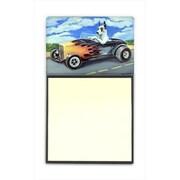 Carolines Treasures Great Dane Refiillable Sticky Note Holder or Postit Note Dispenser, 3 x 3 In. (CRlT59915)