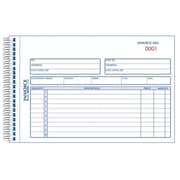 Rediform Blueline Carbonless Duplicate Invoice Book, 5 0.5 x 7 0.87 inch (JNSN80980) by
