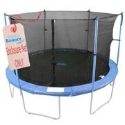 Upper Bounce 12 ft. - Framed - Trampoline Enclosure Net Fit For 6 Poles or 3 Arches (KS040)