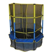 Upper Bounce 55 in. Kid-Friendly Trampoline and Enclosure Set equipped with in.Upper Bounce Easy Assemble Feature in. (KS140)