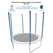 Upper Bounce Upper Bounce Trampoline Enclosure Poles and Hardware Set of 6 - Net Sold Separately (KS121)