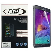 RND Accessories 4 Screen Protector Anti-Fingerprint and Two Anti-Glare With lint Cleaning Cloths (RNDP054)