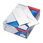 Mead Westvaco Poly-Klear Single Window Envelope V-Flap #9 White 500/box (AZRWEVCO160)