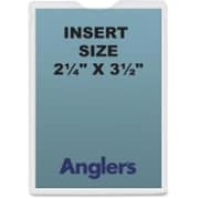 Anglers Company Self-Stick Crystal Clear Poly Envelopes (SPRCH46003)