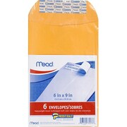 Meadwestvaco Mead Press It Seal It 6Ct 6 x 9 Envelopes (EDRE41161)