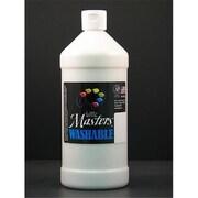 Rock Paint- Handy Art little Masters White 32Oz Washable Paint (EDRE35964)