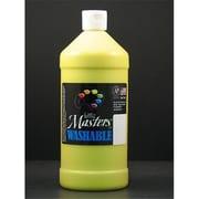 Rock Paint- Handy Art little Masters Yellow 32Oz Washable Paint (EDRE35965)