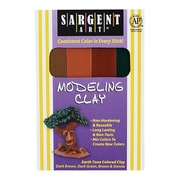 Sargent Art Inc. Sargent Art Modeling Clay Earth Tone Colors (EDRE42679)
