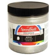 Speedball Art 8 oz. Acrylic Screen Printing Ink Black (AlV30416)