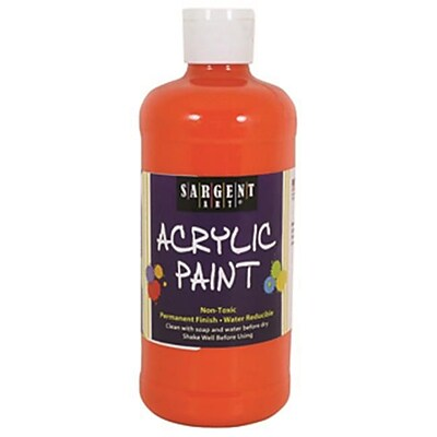 16Oz Acrylic Paint - Orange (RTl146727) 2629404