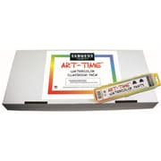 36Ct Art Time Watercolor Classpack 8 Color Sets W/ Brushes (RTl146761)