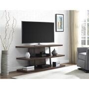 """Ameriwood Home Castling TV Stand for TVs up to 70"""", Espresso (1801096COM)"""