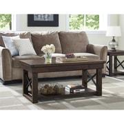 Altra Wildwood Wood Veneer Coffee Table, Mahogany (5056196COM)