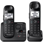 Panasonic Kx-tgl432b Expandable Cordless Phone System With Comfort Shoulder Grip (2-handset System)
