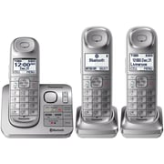 Panasonic Kx-tgl463s Link2cell Bluetooth 3-handset Cordless Phone System With Comfort Shoulder Grip