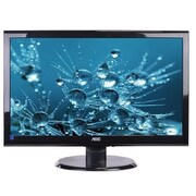 "Refurbished AOC E2450SWD 24"" Black"