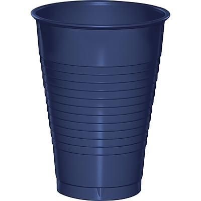 Touch of Color Navy Blue 12 oz Plastic Cups 20 pk (28113771) 2634506