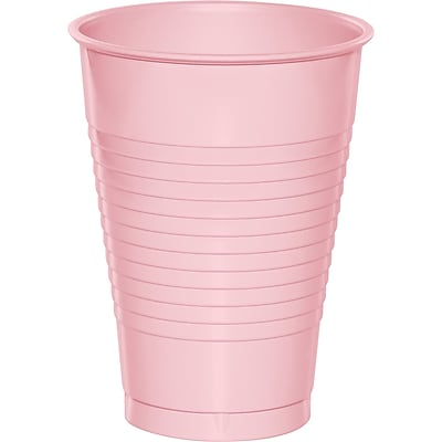 Touch of Color Classic Pink 12 oz Plastic Cups 20 pk (28158071) 2634504