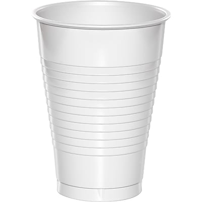 Touch of Color White 12 oz Plastic Cups 20 pk (28000071) 2634510