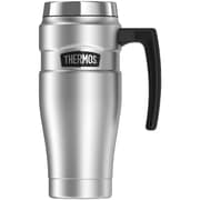 Thermos Sk1000sttri4 Stainless King Vacuum-insulated Travel Mug, 16oz (silver)