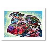 "Trademark Fine Art Dean Russo 'Bulls Eye' 18"" x 24"" Paper Rolled (190836154975)"