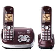Panasonic Kx-tg6572r Dect 6.0 2-handset Cordless Phone System