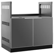"""NewAge Products Outdoor Kitchen Insert Grill Cabinet Aluminum Slate, 33""""W X 23""""D (65204)"""