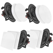 "Pyle Home Pdicbt2106 10"" Bluetooth Ceiling/wall Speakers, 4 Pk"