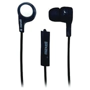 Maxell 199621 Heavy Bass Earbuds With Microphone