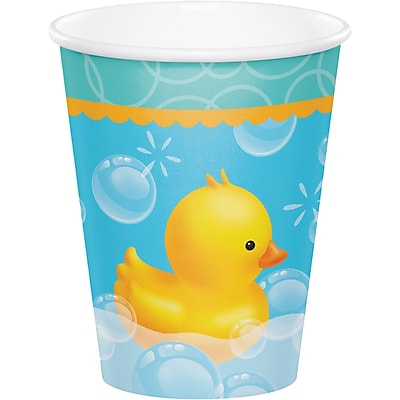 Creative Converting Rubber Duck Bubble Bath Cups 8 pk (377058) 2677003