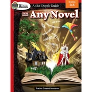 Teacher Created Resources Rigorous Reading: An In-Depth Guide for Any Novel Grade 3-5 (TCR2972)