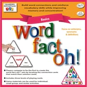 Learning Advantage word-fact-oh Basic Game (CTU2190)
