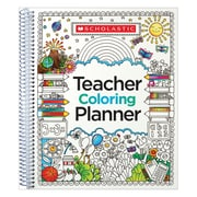 Scholastic Teacher Coloring Planner (SC-809292)