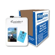 Flipside Framed Magnetic Dry Erase Board Set, Corrugated Display of 24 (FLP50024)