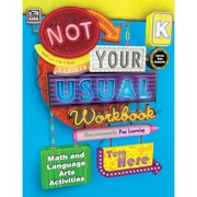 Carson-Dellosa Not Your Usual Workbook, Kindergarten (CD-704720)