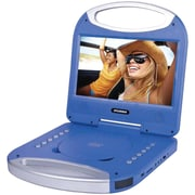 "Sylvania Sdvd1052-blue 10"" Portable Dvd Player With Integrated Handle (blue)"