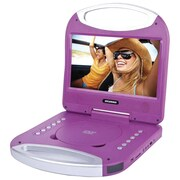 "Sylvania Sdvd1052-purple 10"" Portable Dvd Player With Integrated Handle (purple)"
