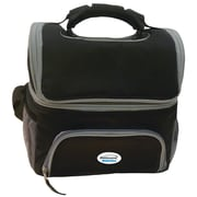 Brentwood Kool Zone Cb-12bk Cooler Bag With Extra Storage (black)