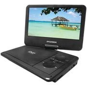"Sylvania Sdvd9321 9"" Swivel-screen Portable Dvd & Media Player With 4-hour Battery"