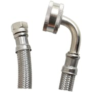 Certified Appliance Dw48ssl Braided Stainless Steel Dishwasher Connector With Whirlpool Elbow (4ft)